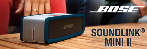 Nouvelle enceinte Bose SoundLink Mini II