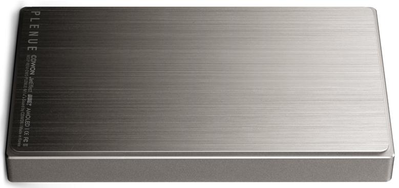 Cowon Plenue M et son boîtier monocoque en aluminium