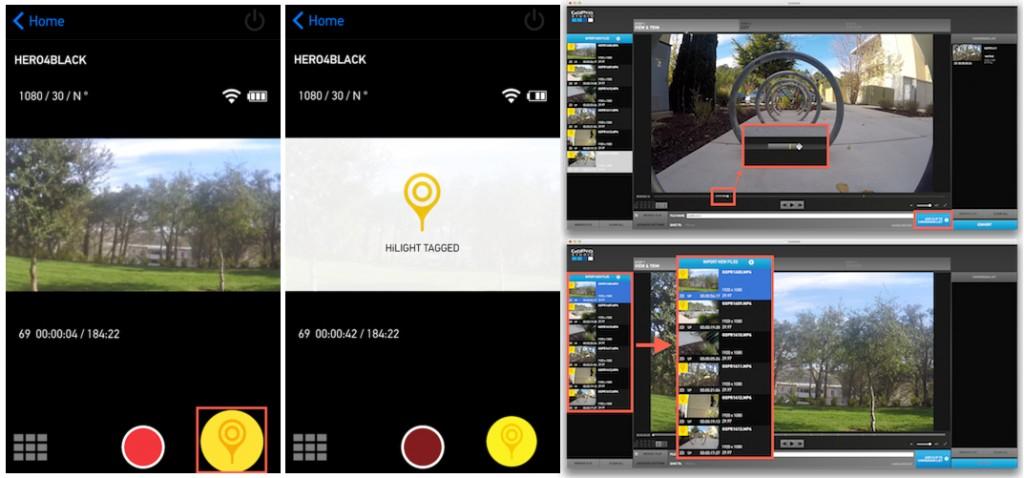 GoPro Hero+ LCD avec fonction HiLight
