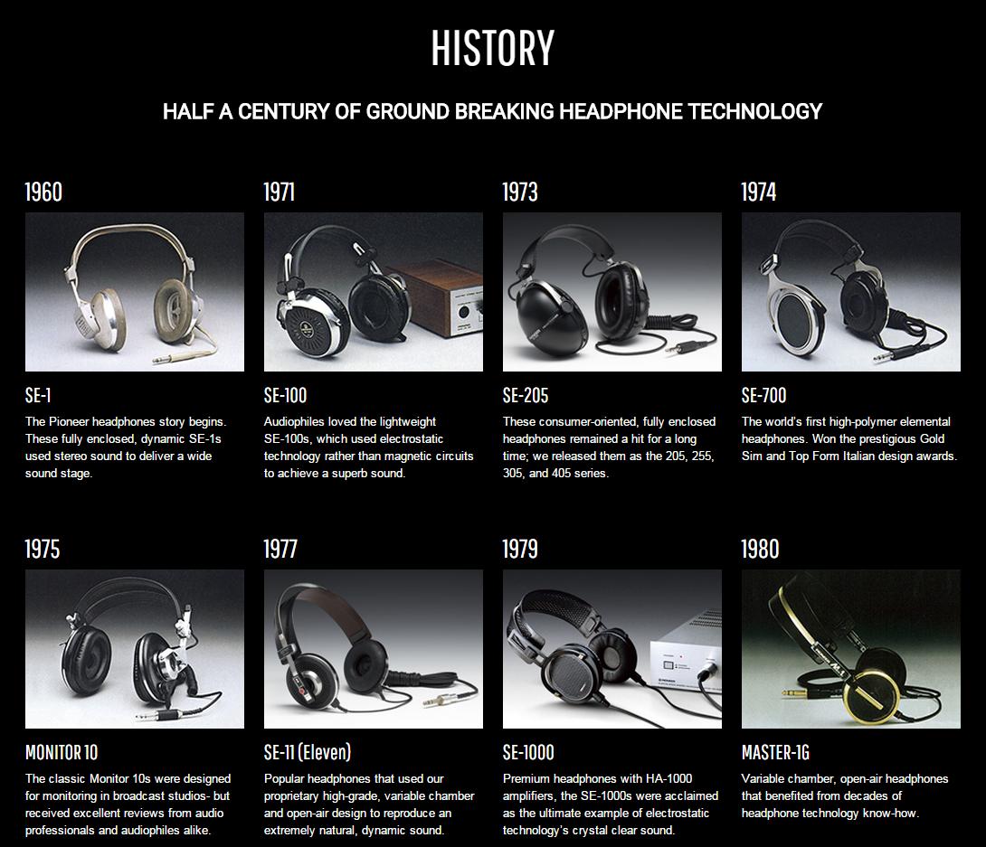 Pioneer : 50 ans de passion pour les casques audiophiles