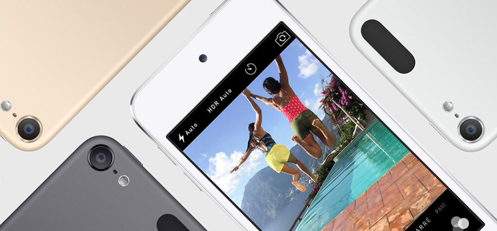 Appareil Photo & caméra faceTime - Apple iPod Touch (2015)