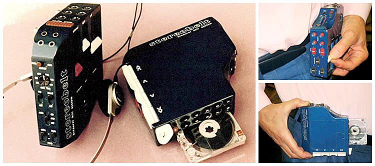 Prototype du Stereobelt d'Andreas Pavel - 1972