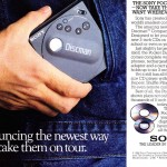 Lecteur CD Sony Pocket Discman (1988)