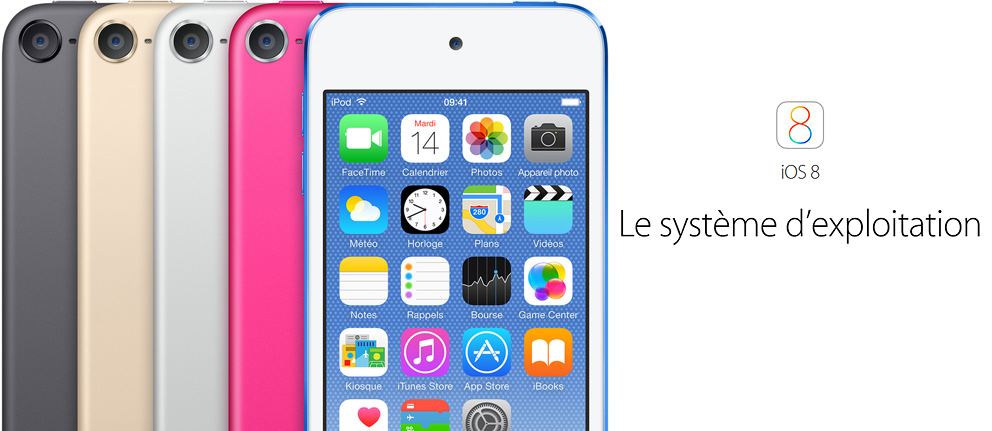 iOS 8 - iPod Touch