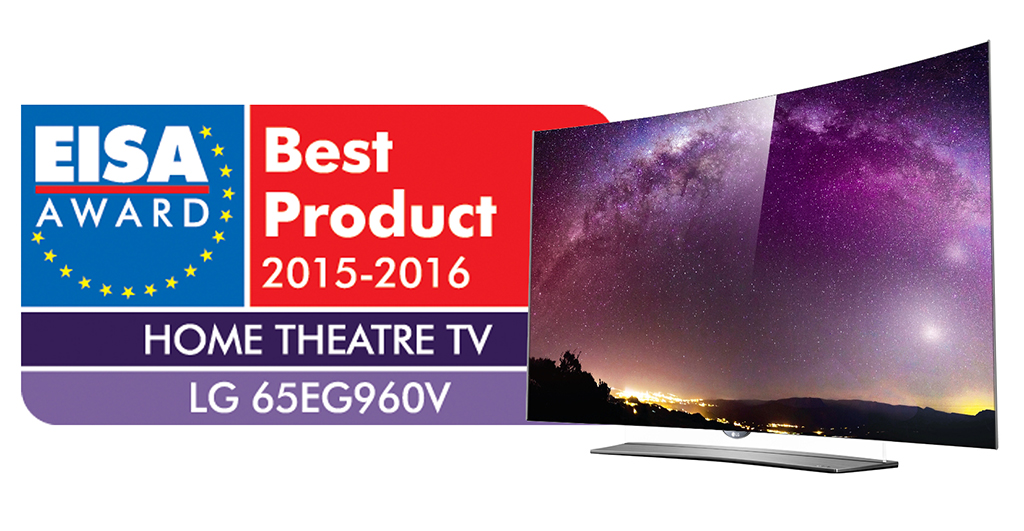 LG 4K OLED TV 65EG960V_EISA2015 Award