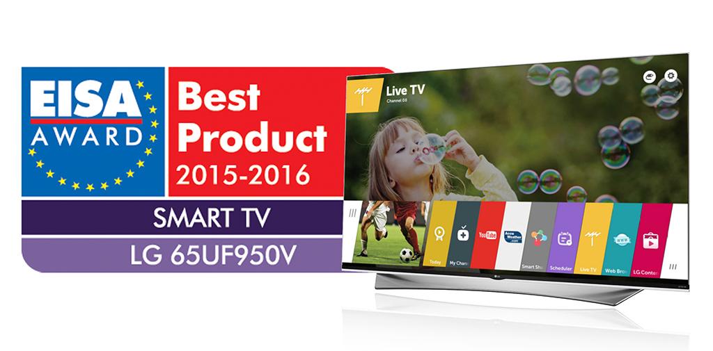 LG PRIME UHD TV 65UF950V_EISA2015 Award (1)