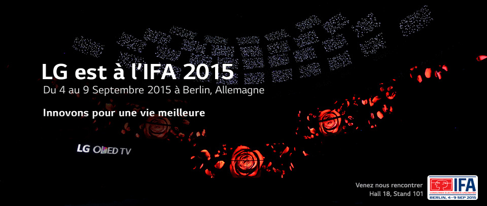 LG à l'IFA 2015 de Berlin