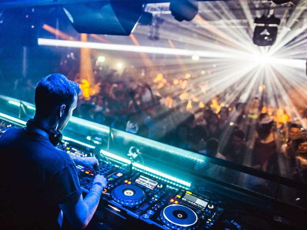 Ministry of Sound séance de DJing