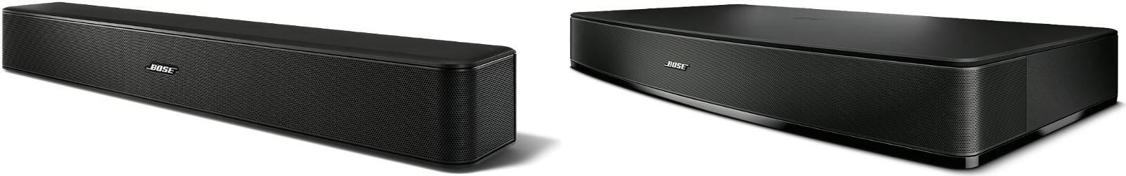 Barre de son Solo 5 et plateau sonore Solo 15 serie II de Bose !