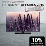 PROMO BONNES AFFAIRES Samsung 10% TV - 28-09-2015