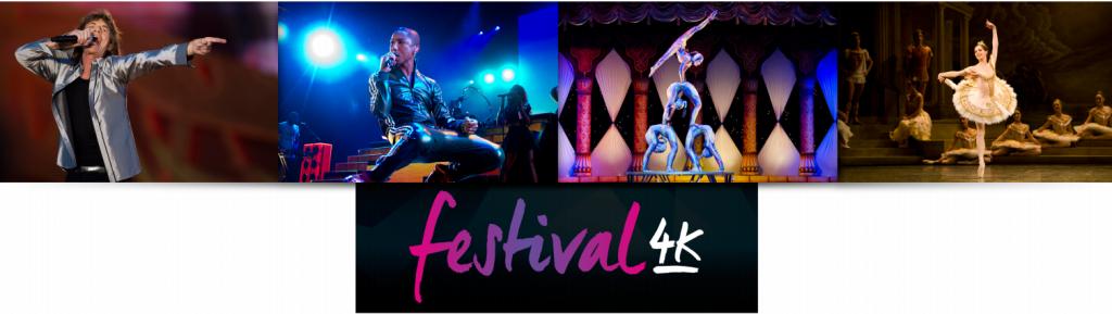 Festival4K contenus musicaux