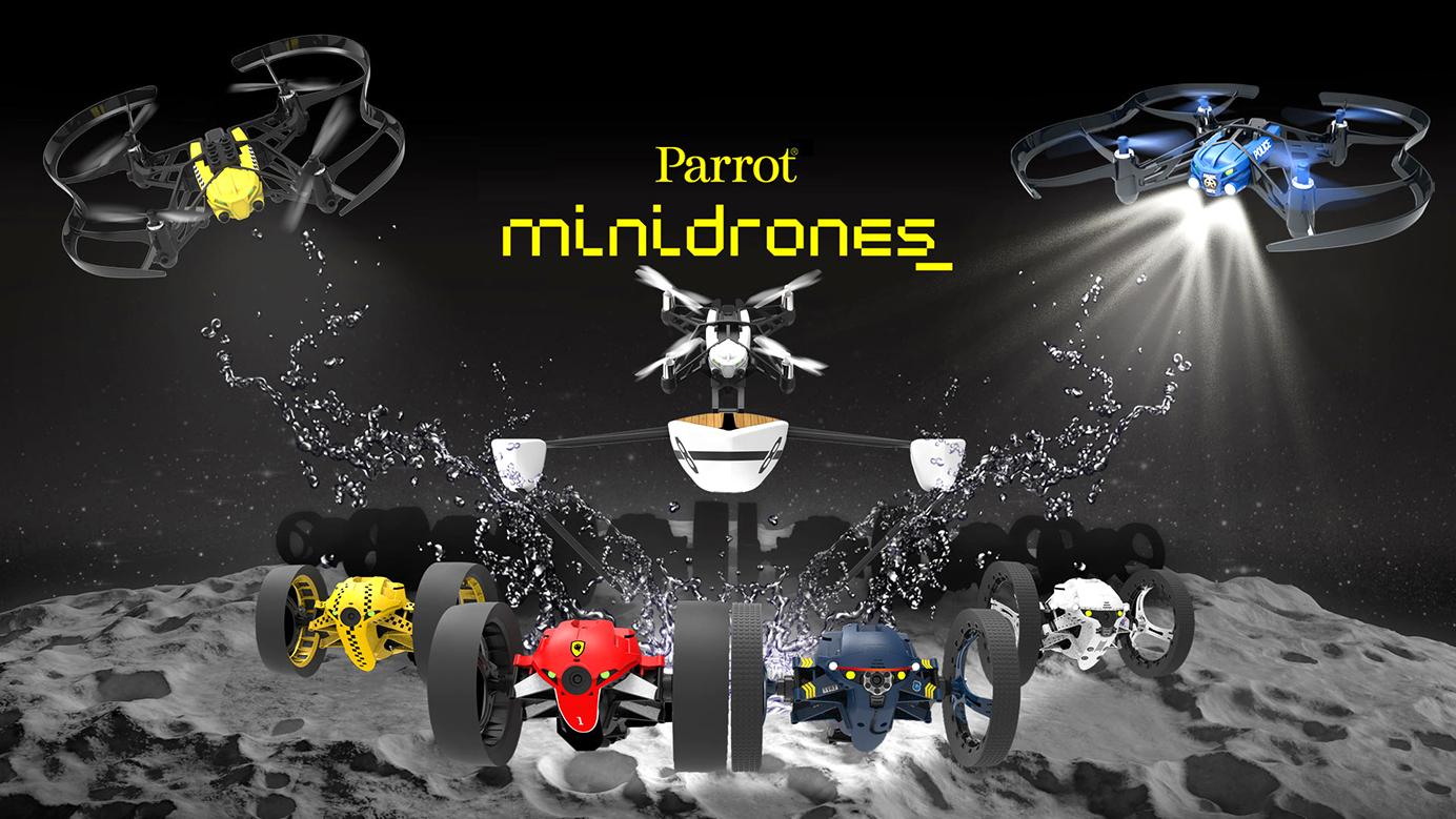 Parrot MiniDrones (2015)