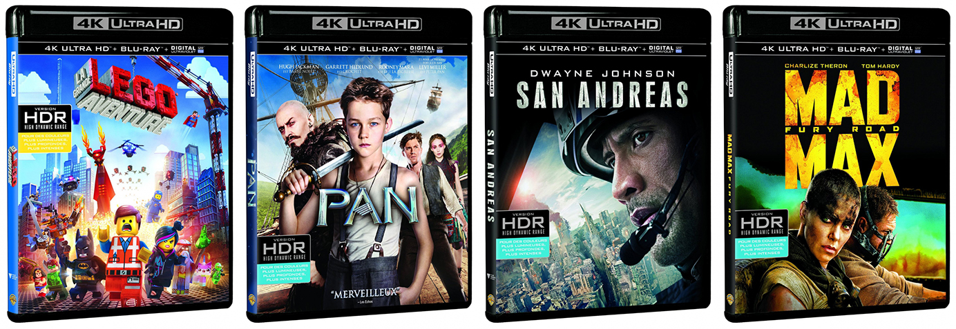 Blu-ray 4k Ultra HD Warner Bros.