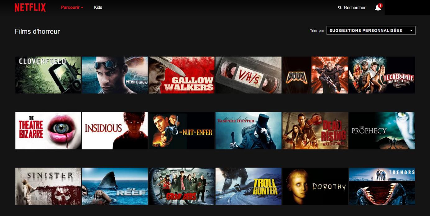 Netflix Page Sous-catégorie : Films_Horreur
