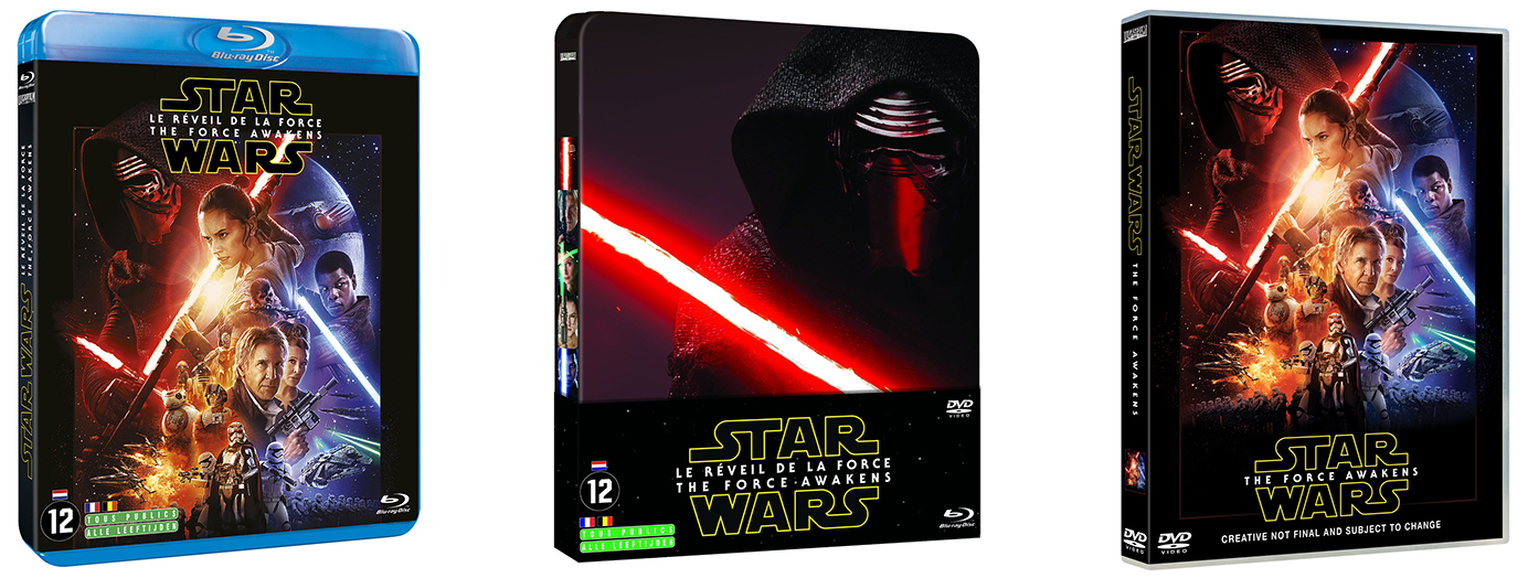 """Star Wars : Le Réveil de la Force"" arrive en Blu-ray - Pack"