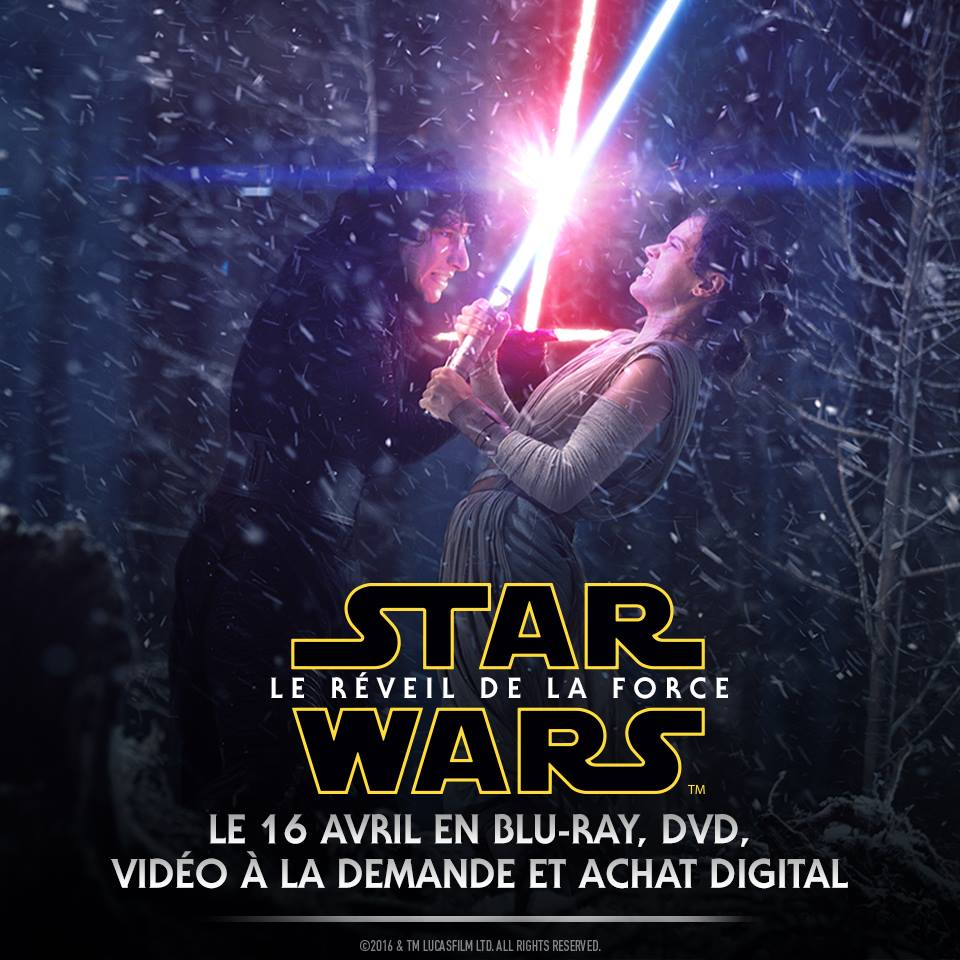 Star Wars : Le Réveil de la Force débarque en Blu-ray (@2015 & TM Lucasfilm Ltd. All rights reserved)
