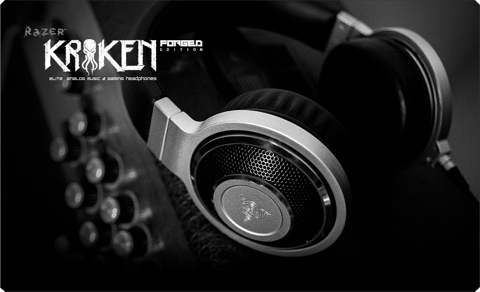 Casque musical et gaming Razer kraken Forged Edition