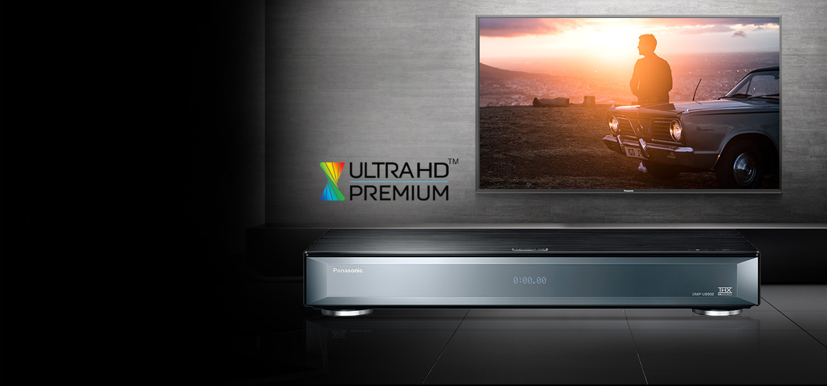 Lecteur Blu-ray UHD 4K PANASONIC DMP-UB900