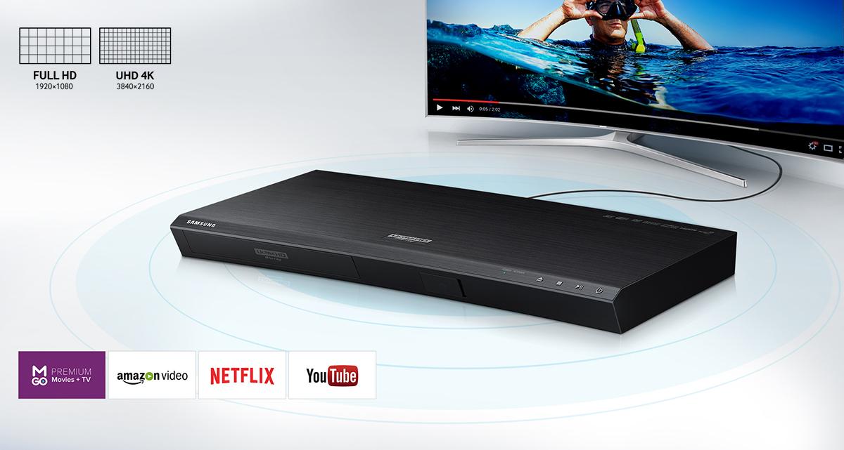Lecteur Blu-ray UHD 4K SAMSUNG UBD-K8500