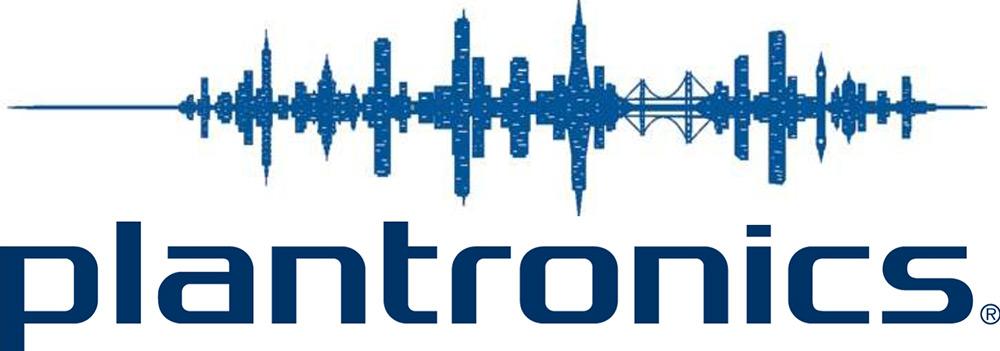 Logo Plantronics : marque pour électronique, casque, entreprise