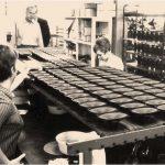 Videbæk Højttaler-fabrik - Vifa (image d'archive)