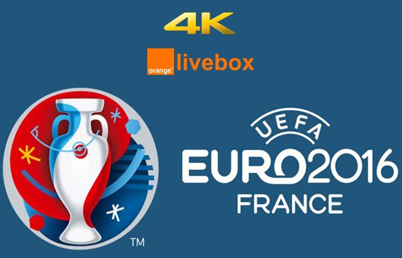 euro huit matchs diffuses en k