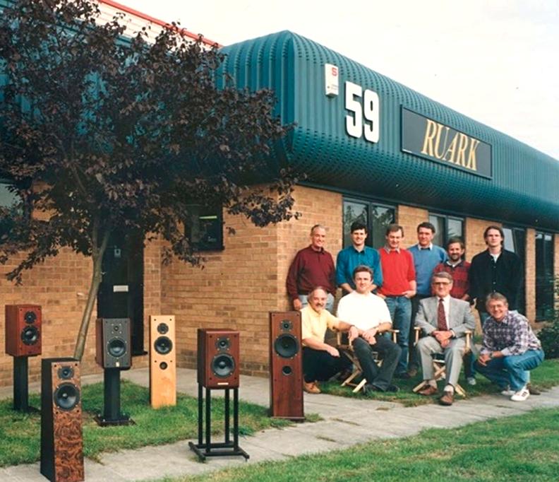 Ruark Acoustics - 1996 - devant les nouveaux locaux dans le Southend On Sea dans l'Essex