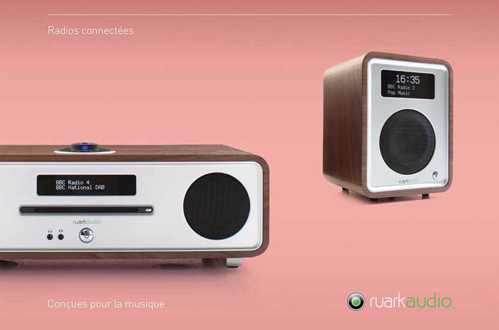 Les gammes Ruark Audio