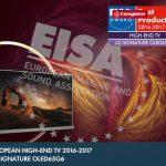 LG SIGNATURE OLED65G6V - EISA 2016 - 2017