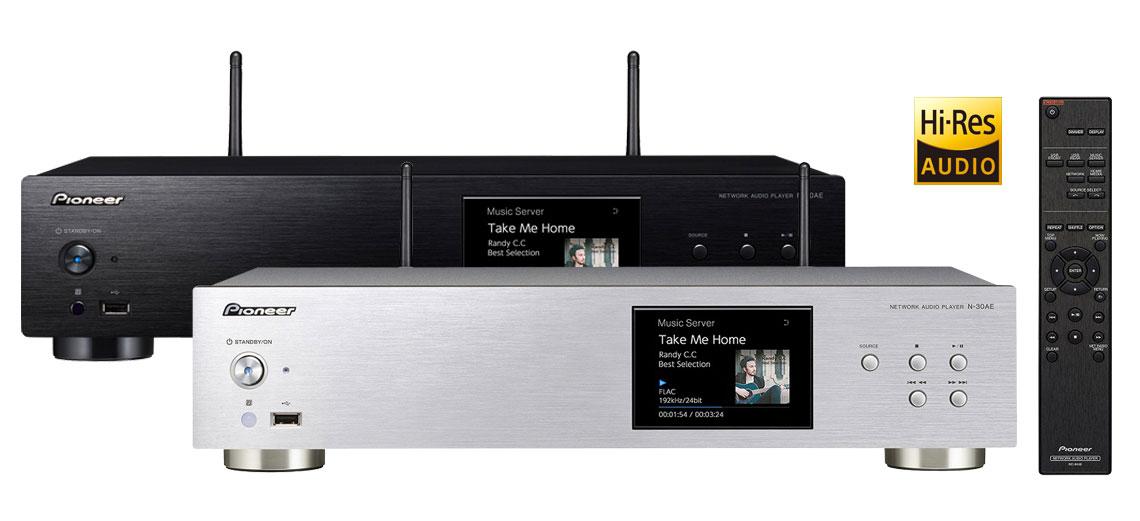 Pioneer N30AE - Lecteur réseau Hi-Res Audio