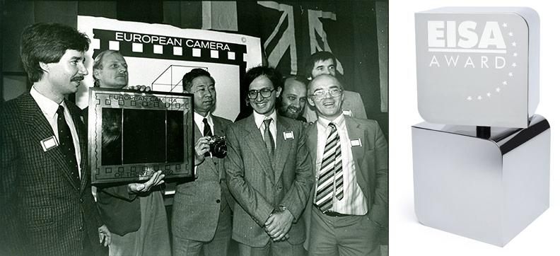 Remise du premier prix EISA 1982