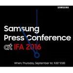 Samsung Live Stream - IFA 2016