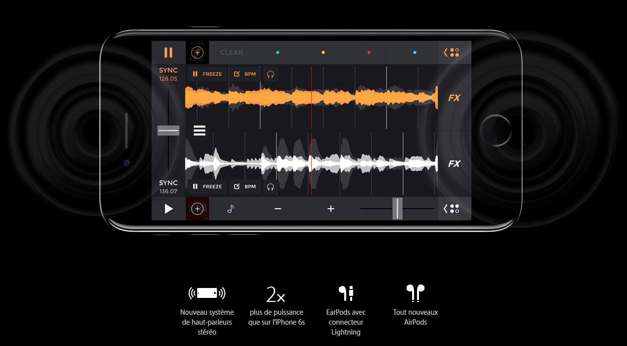 Apple iPhone 7 - Smartphone Stéréophonique