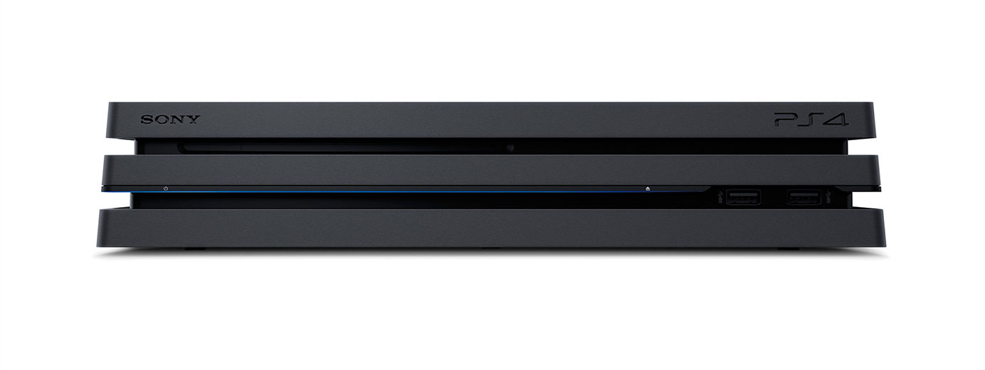 Nouvelle Sony PS4 Pro 4K HDR (front)