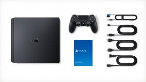 """Nouvelle Sony PS4 """"Slim"""" avec DUALSHOCK 4 (Composition pack)"""
