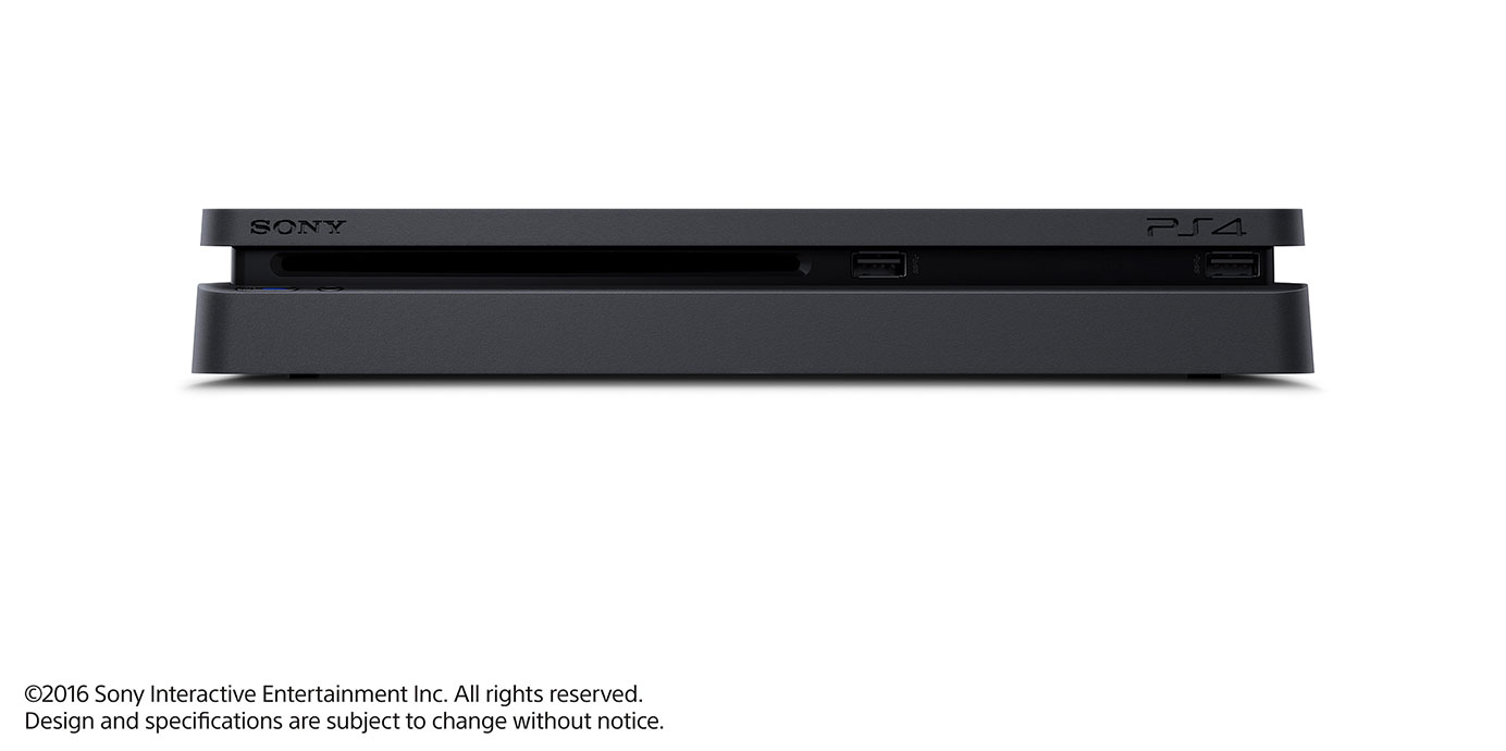 "Nouvelle Sony PS4 ""Slim"" (Front)"