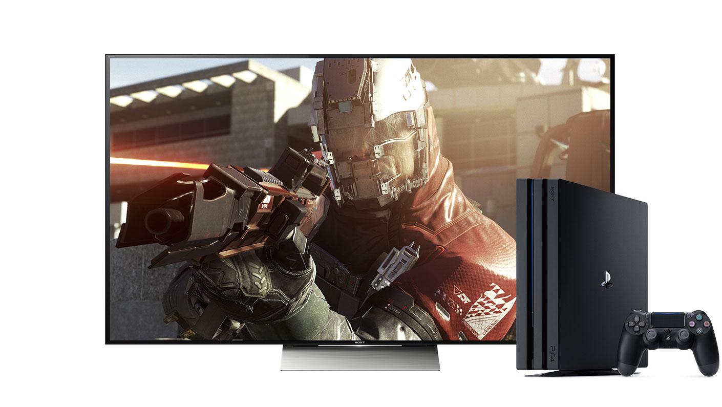 Nouvelle Sony PS4 Pro 4K HDR avec contenu 4K HDR