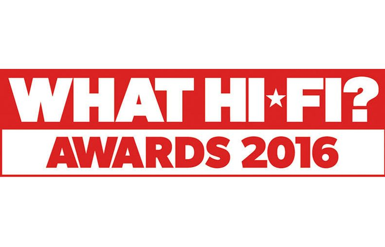 Billedresultat for what hifi award 2016