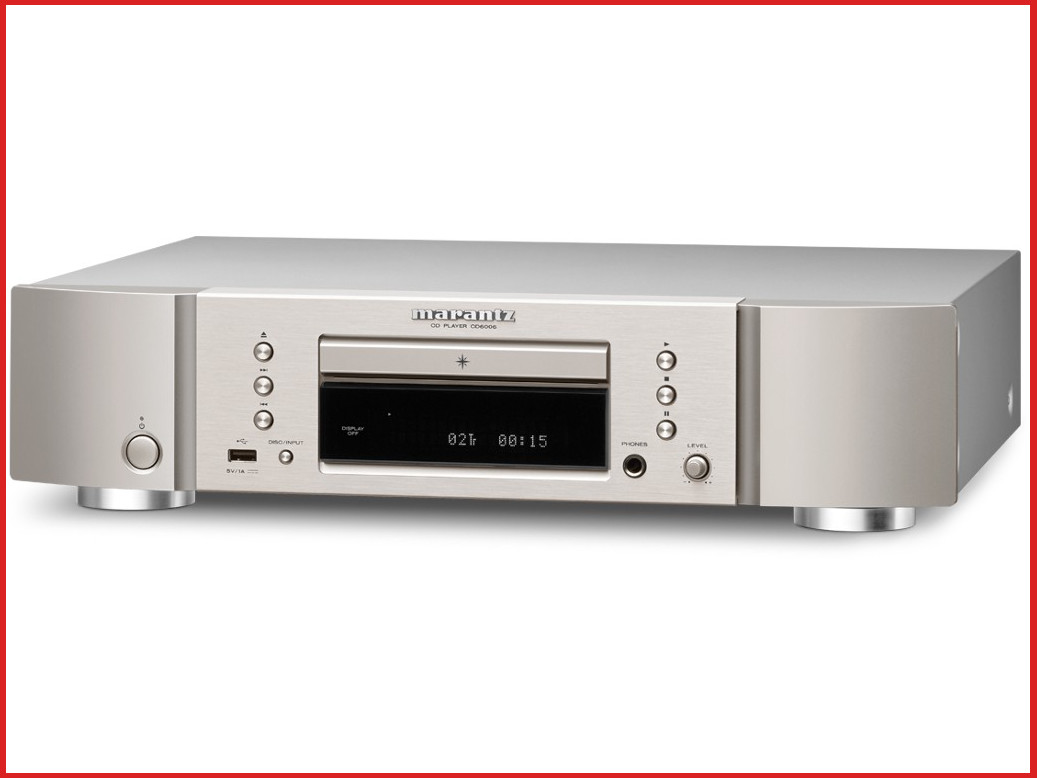 marantz-cd6006-silver-gold