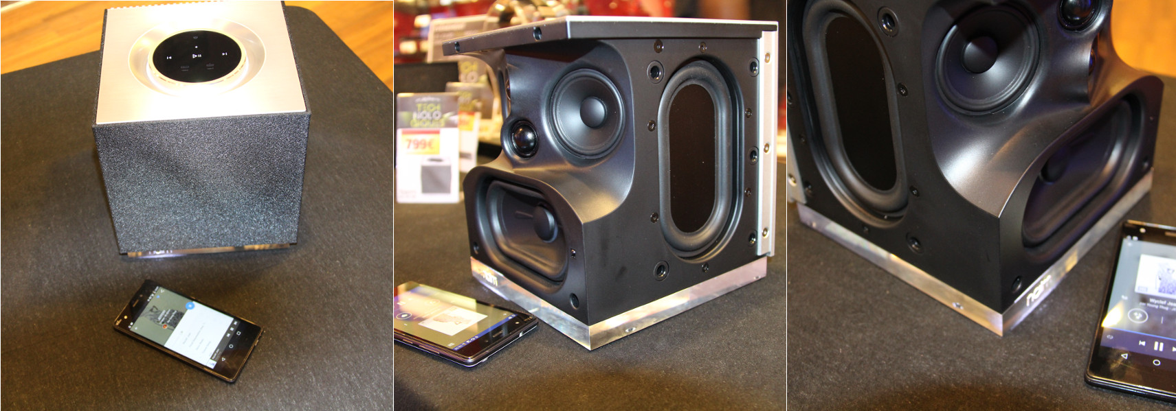 Test Espresso Naim Muso Qb Petit Mais Tres Costaud Blog Cobra # Emplacement Enceinte Home Cinema