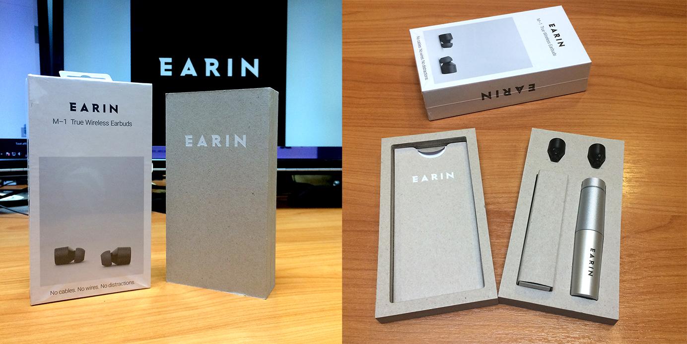 Casque intra sans fil et sans cordon Earin® M-1 (cobra.fr)