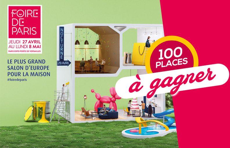 invitation gratuite foire de paris 2014. Black Bedroom Furniture Sets. Home Design Ideas