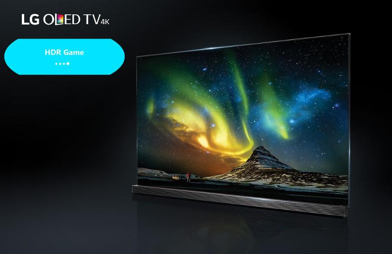 Input Lag TV OLED 4K LG 2016 : Mise à Jour HDR GAME