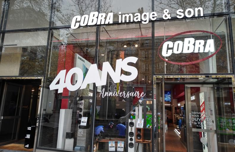 d couvrez le magasin cobra wagram en 28 photos blog cobra. Black Bedroom Furniture Sets. Home Design Ideas