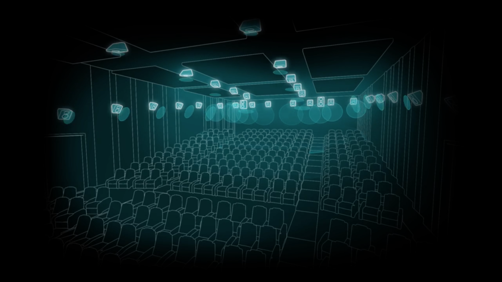 Configuration cinéma Dolby Atmos