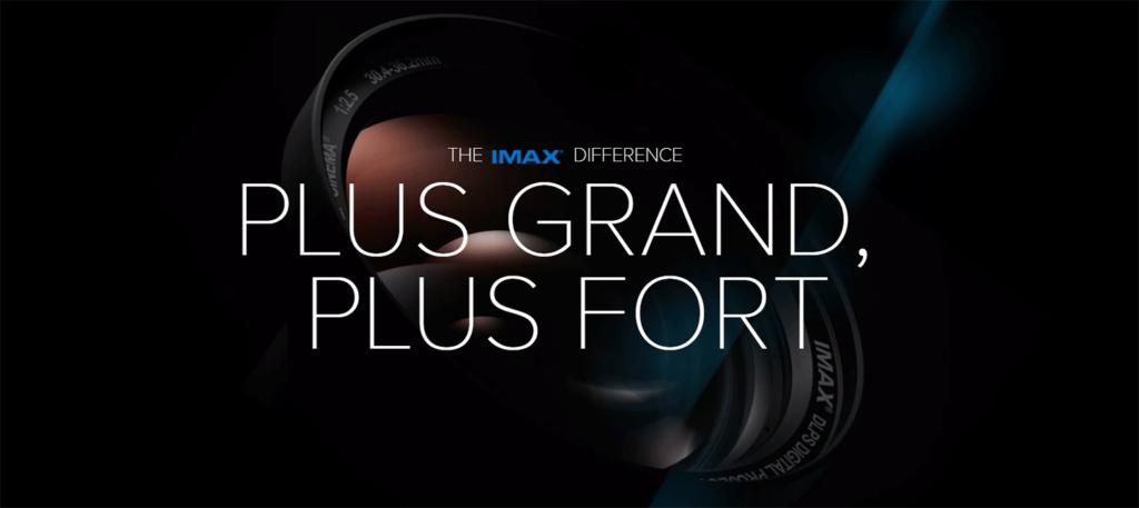 """Le cinéma IMAX :  """"Plus grand plus fort"""""""