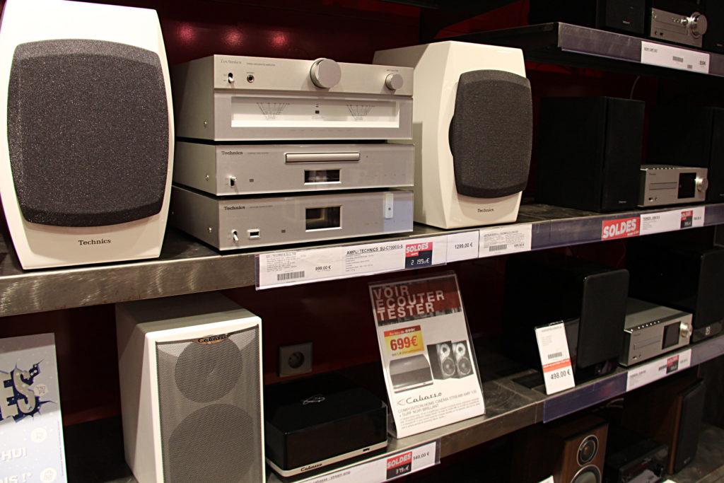 Des chaînes Hi-Fi d'expo à Paris 11