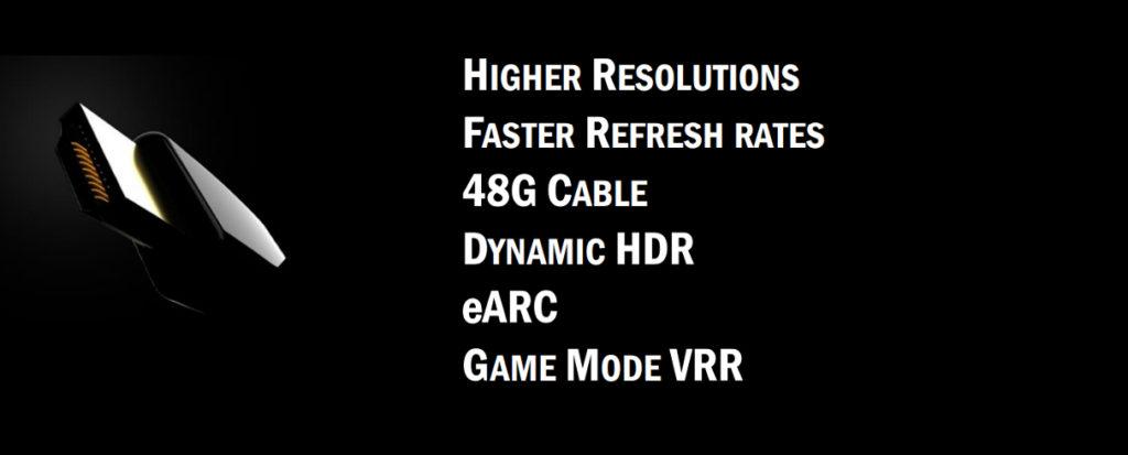 Les apports du la nouvelle norme HDMI 2.1