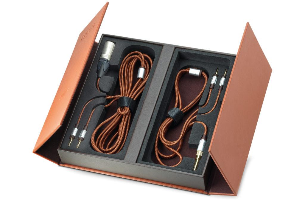 Câbles fournis avec le casque Focal Stellia