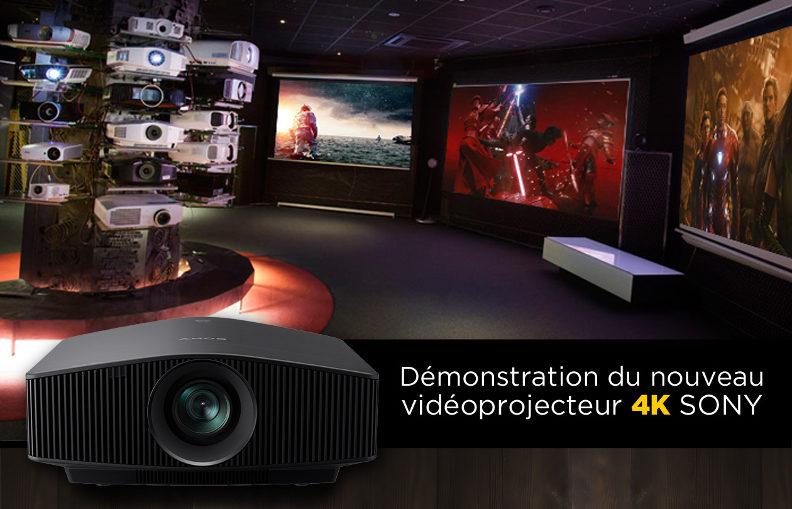 Présentation exclusive du nouveau Sony VPL-VW870